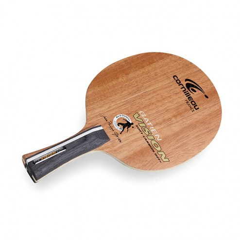 Holz Vision Pure Off+ Soft Carbon Raquettes Ping Pong