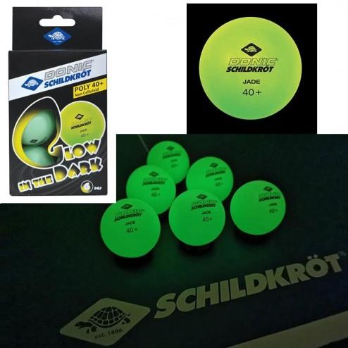 """Ces balles de ping-pong brillent dans le noir """"glow in the dark"""""""