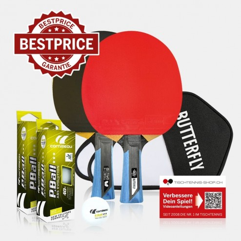 Jeu de battes de tennis de table Premium Butterfly