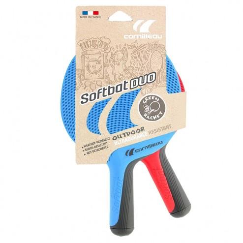 Cornilleau Softbat Pack Duo - Raquettes d'extérieur