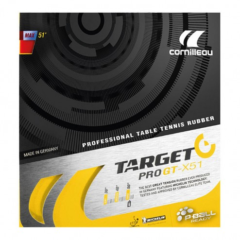 Raquettes Ping Pong revêtement Pro GT-X51
