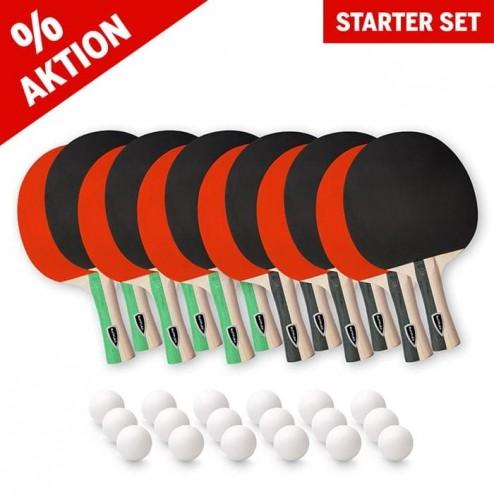 Starter Kit de raquettes de tennis de table