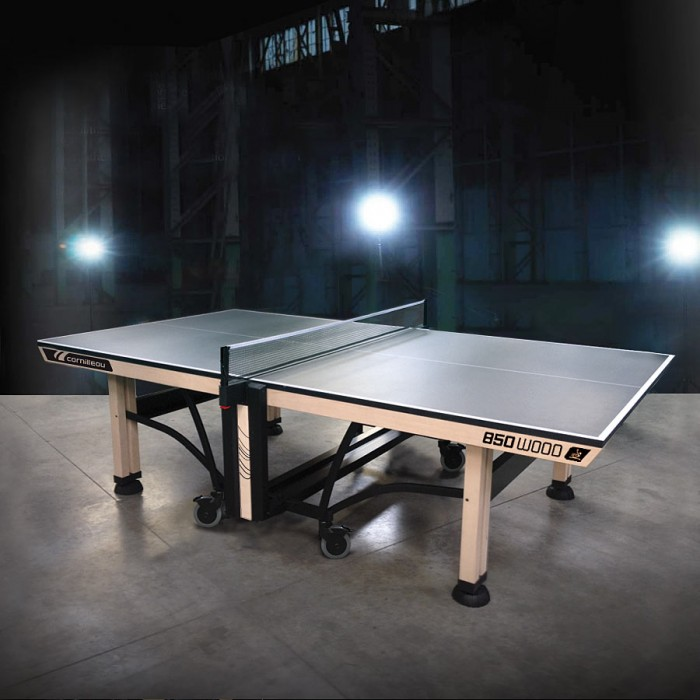 cornilleau table ping pong competition 850 wood ittf. Black Bedroom Furniture Sets. Home Design Ideas