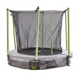 Trampoline avec filet de protection (305 cm x 65cm)