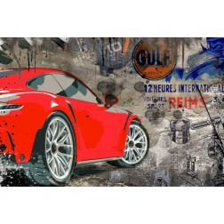 Photo d'art Porsche GT3 Wallart 3D