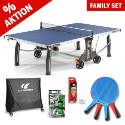 Kit familial de tennis de table Outdoor Ready to play