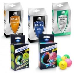 Set de balles de tennis de table