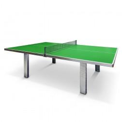 Table de ping-pong M83 avec piètement en béton ou en métal