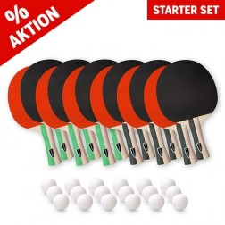Starter Kit de raquettes de tennis de table