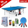 Kit familial de tennis de table Outdoor Ready to play+