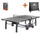 Table de tennis de table d'extérieur Cornilleau Crossover 700M avec housse gratuite