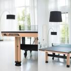 Topmoderner Tischtennistisch