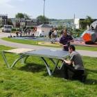 Ping Pong table pour espaces publics ouverts