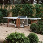 Table de ping-pong extérieure RS Barcelona Designer blanche