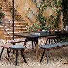 Table de repas en extérieur - Table de ping-pong polyvalente