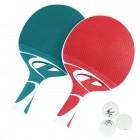 Cornilleau Tacteo Duo (2 raquettes et 3 balles)