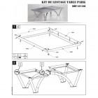 Notice kit lestage table park plus 200kg