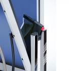 Construction de cadre stable et inoxydable en acier zingué