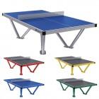 Table de ping-pong d'extérieur en différentes couleurs