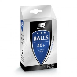 Balles de tennis de table 3 étoiles 6 pcs