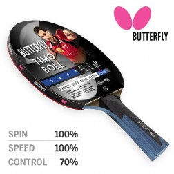 Raquette ping pong Butterfly TIMO BOLL Black