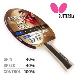 Raquette ping pong Butterfly TIMO BOLL BRONZE
