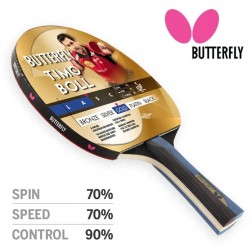 Raquette ping pong Butterfly TIMO BOLL GOLD