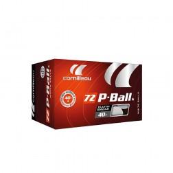 Balls de Ping Pong ITTF 1 étoile P-Ball (Polymer)