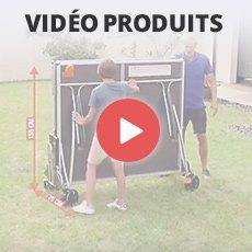 Vidéos des produits de tennis de table et ping pong Cornilleau